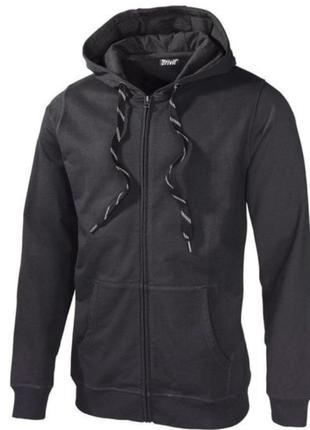 Толстовка,кофта с капюшоном (серый и черный цвет)