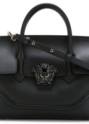 Versace сумка-тоут 'palazzo empire' шикарная элегантная крутая черная сумка versace сумка