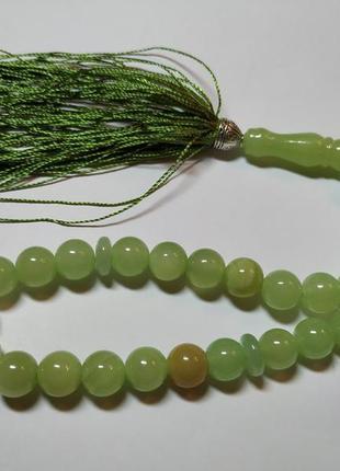 Четки из зелёного оникса