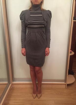 Красивое платье из нереально мягкого трикотажа от louise orop s-m