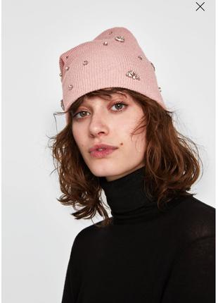 Супер стильна шапочка zara