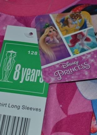 Красивая кофточка с принцессами от disney на девочку 8 лет ( рост 128)3