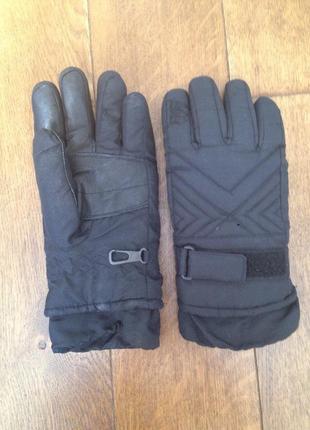 Лыжные мужские перчатки р. s