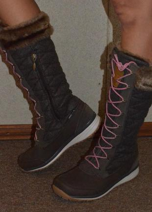 Зимові чоботи salomon / snow boot / снов бут / ботинки, сапоги