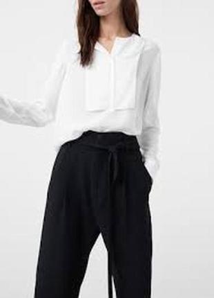 Шикарная белоснежная блуза mango