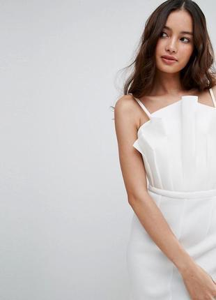 Asos сукня на запах теракотового кольору декольте сердечко ASOS ... 2359a37b9d27a