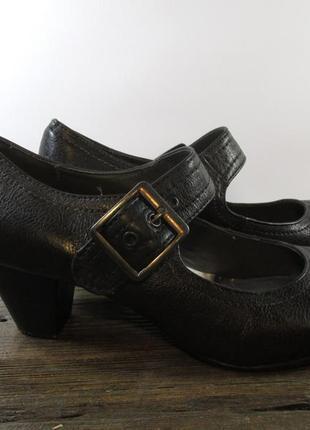 Туфли стильные graceland, 40 (25), кожзам, отл сост!