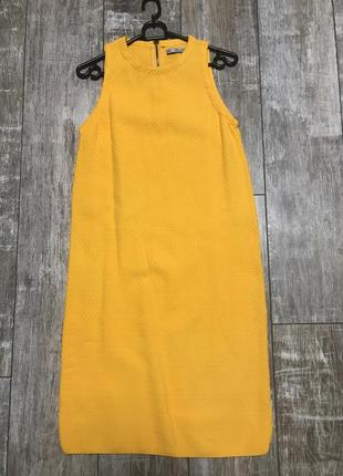 Платье вязаное zara