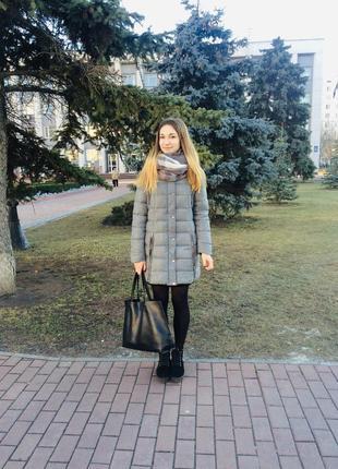 Зимнее пальто/зимний пуховик/ зимняя куртка crop