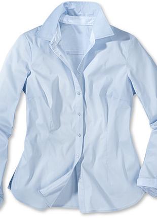 Шикарная рубашка из органического хлопка от тсм(германия) , размер 46 евро=521