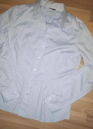 Шикарная рубашка из органического хлопка от тсм(германия) , размер 46 евро=522