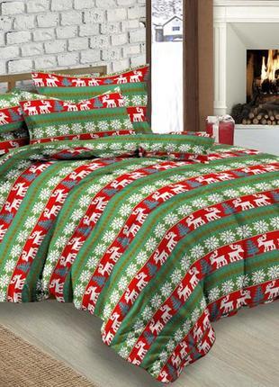 Новогодний комплект постельного белья