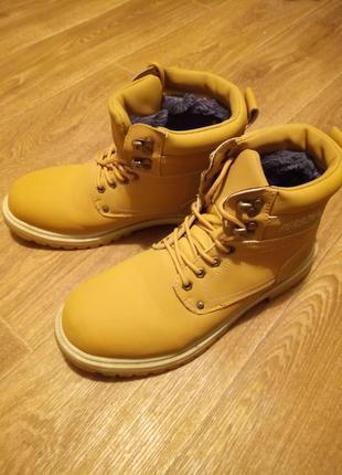 Зимние мужкие ботинки
