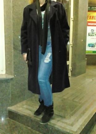 Финское шерстяное пальто р.50
