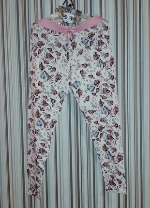 Домашние брючки алиса в стране чудес на 48-50 размер