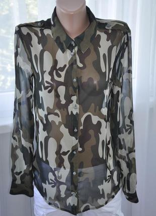 Блуза камуфляж only