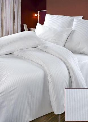 Белое постельное белье бязь gold