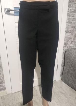 Укороченные зауженные брюки классика