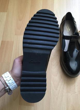 Кожаные туфли ботинки clarks