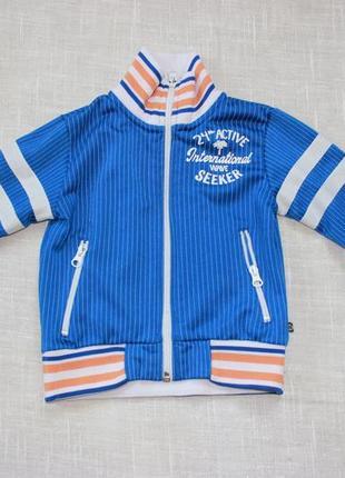 Кофта спортивная куртка бомбер худи толстовка реглан батник спортивный костюм 2-3 года