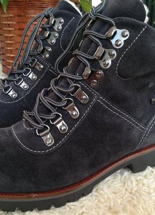 Зимние ботинки caprice (натуральная замша)