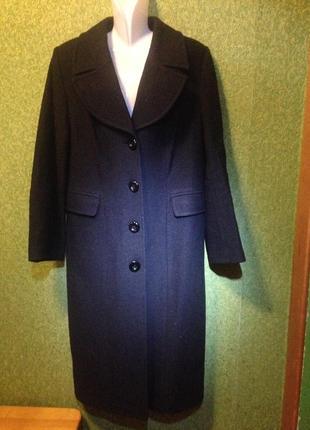 Пальто классическое черное