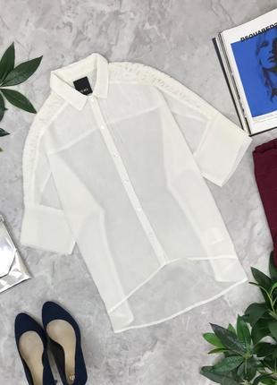 Женственная блуза с нежными плечиками  bl1848029  ichi