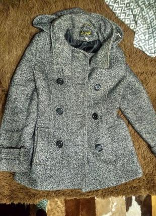 Зимнее пальто, букле