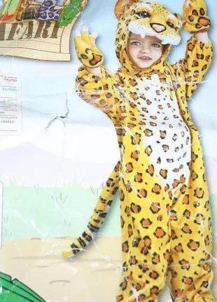 Новогодний карнавальный костюм леопард