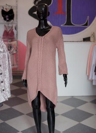 Большая расспродажа!!! шерстяное вязаное платье туника от sewel