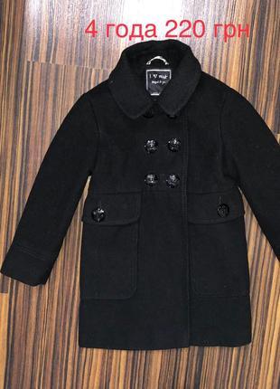 3-5 лет пальто некст на весну осень