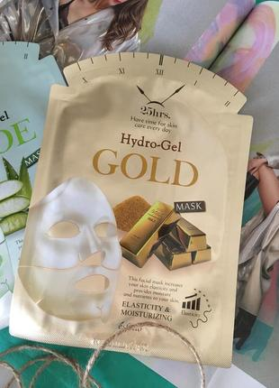 Гидрогелевая маска с золотом esfolio