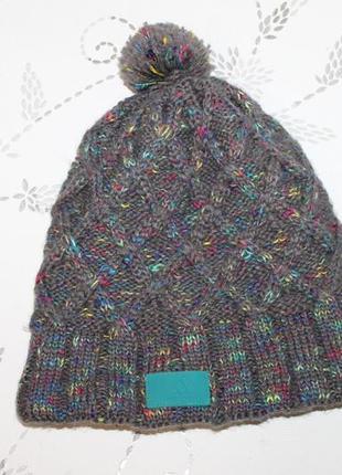 Adidas climawarm теплая шапка с помпоном