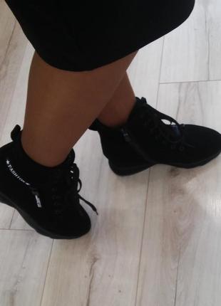 Стильные зимние ботинки р с 36 по 41