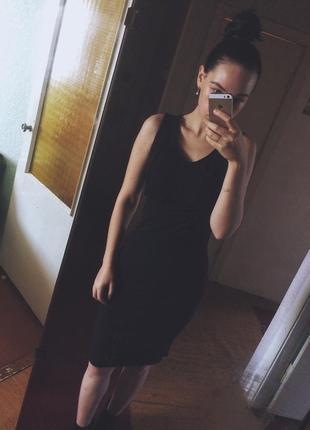 Красивое платье миди mango