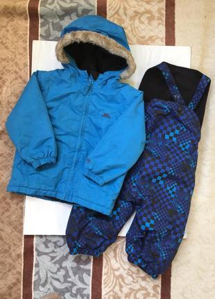 Классные куртка и штаны для активных прогулок