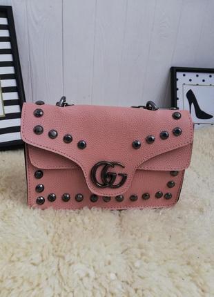 Новая розовая сумка с биркой