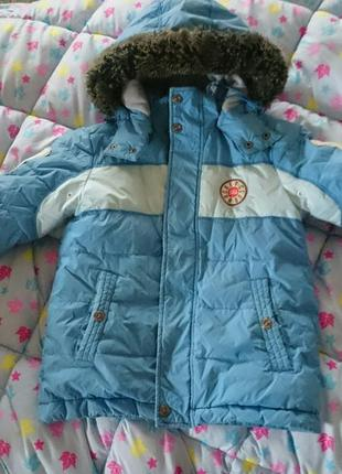 Куртка - пуховик sela