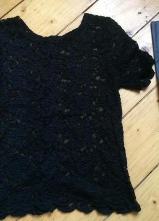 Кружевная нарядная блуза