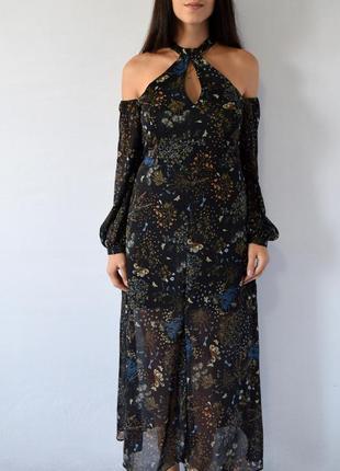 Длинное платье от river island