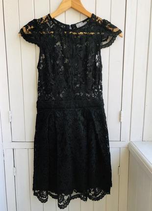 Шикарное кружевное платье asos