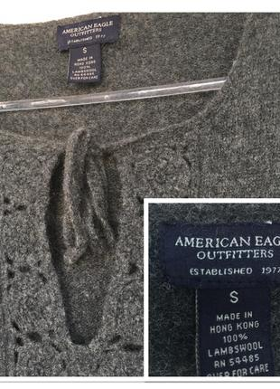 Шерстяной свитер american eagle outfitters