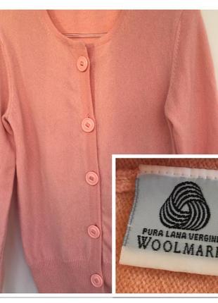 Шерстяной свитер  woolmark