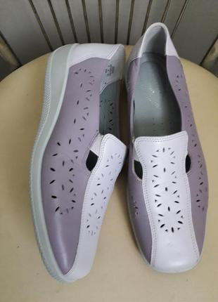 40 р. hotter  супер комфортные кожаные туфли