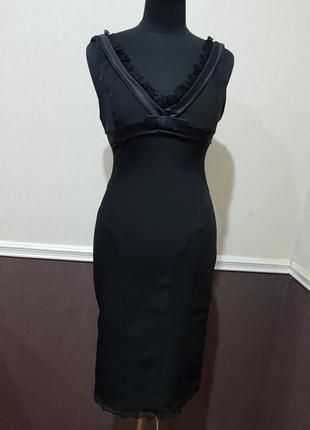 Платье черное twin-set
