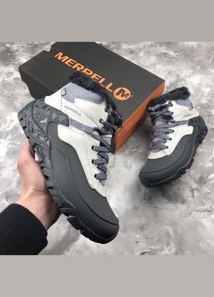 Женмере ботинки merrell aurora 6 ice + waterproof р.36-41