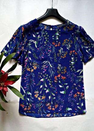 Синяя блуза 18