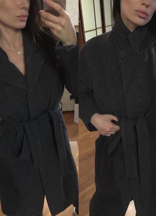 Пальто шерсть 49%