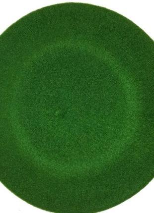 Чешский фетровый берет tonak fezko зеленый