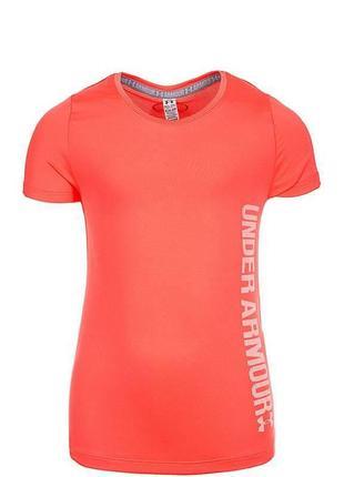 Фирменная детская спортивная футболка under armour